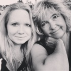 Edmonton folk fest with mama