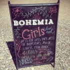 Sign I made for Bohemia