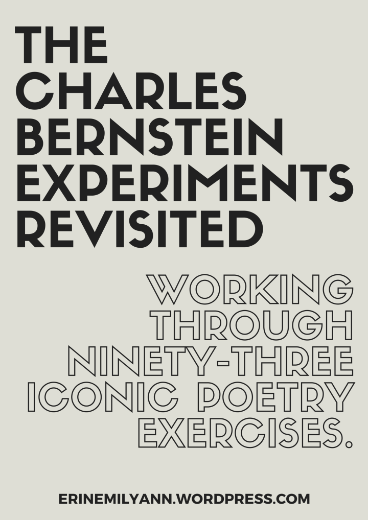 the charles bernstein experiments