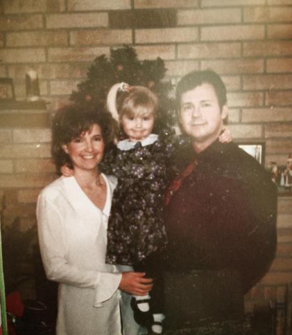 Mom, Me, Dad around 1999